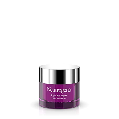 Neutrogena Triple Age Repair Anti-Aging Night Cream with Vitamin C; Fights Wrinkles & Even Tone,...