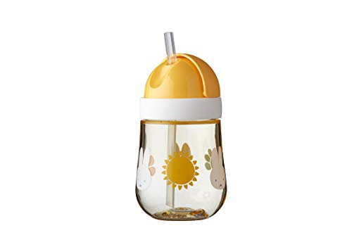 Mepal Mio Vaso con pajita para aprender a beber, a partir de 9 meses, a prueba de fugas, apto para lavavajillas, Miffy Explore