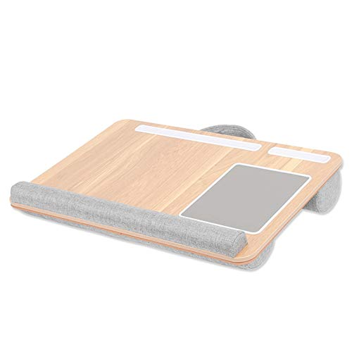 N\A Supporto per Laptop, Supporto Portatile da 17 Pollici Portatile con taccuino Posto da Polso Resto per Notebook MacBook sotto con Tablet Penna Telefono Supporto Home pistone Cuscino