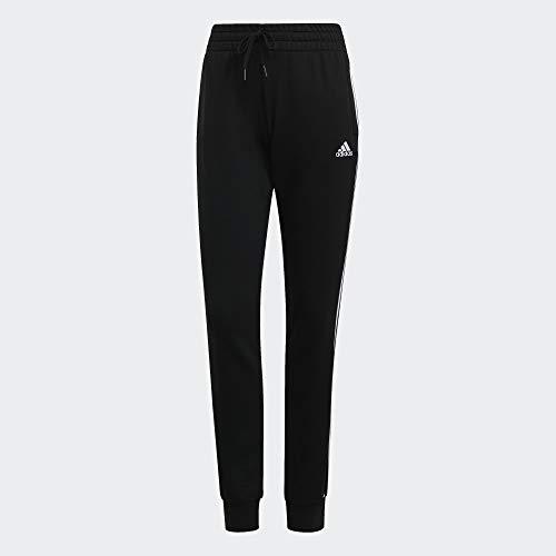 adidas 3-Streifen French Terry C Sporthose Black/White M/S