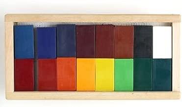 Stockmar Beeswax 16 Block Crayons in Wooden Storage Case ...