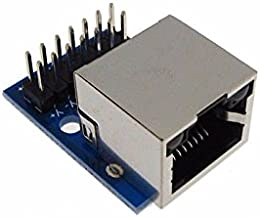 RJ45 Ethernet Connector Breakout Board w/LED 0.1