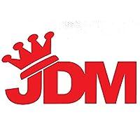 日本JDMクラウンビニールウィンドウデカールカーステッカー(14cm * 7.7cm) (Color : 3)