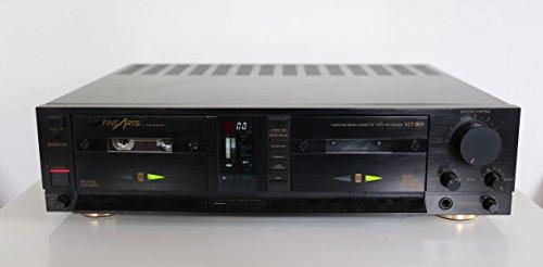 Grundig Fine Arts CCT-903 Doppelkassettendeck in schwarz