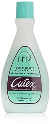 Cutex Quitaesmalte con Keratina