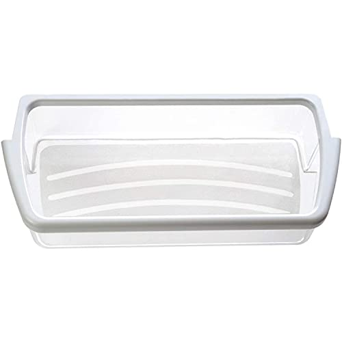 W10321304 Door Shelf Bin by PartsBroz - Compatible with Whirlpool Refrigerators - Replaces WPW10321304, AP6019471, 2171046, 2171047, 2179574, 2179575, 2179607