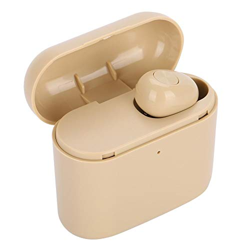 Eboxer Neue Mini-Ohrhörer unsichtbarer drahtloser Bluetooth-Kopfhörer-Kopfhörer Wireless Ohrhörer mit Ladebox für Computer,Handys,Kfz(Hautfarbe)