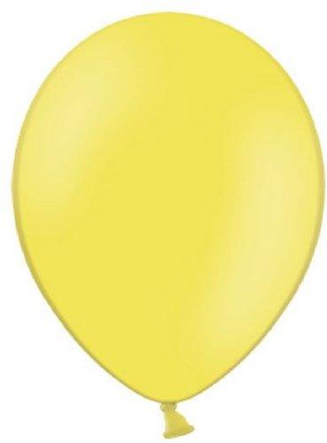 Belbal 25 Luftballons gelb Qualitätsballons Ø ca. 27cm B85 (Standardgröße)