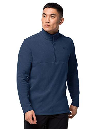 Jack Wolfskin Gecko Sweatshirt Homme Sweatshirt Homme Dark Indigo FR : XL (Taille Fabricant : XL)