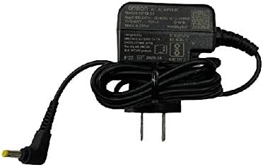 Omron AC Adapter - AC Adapter Charge for Omron Healthcare Upper Arm Blood Pressure Monitor 5,7,10 Series - UL Listed