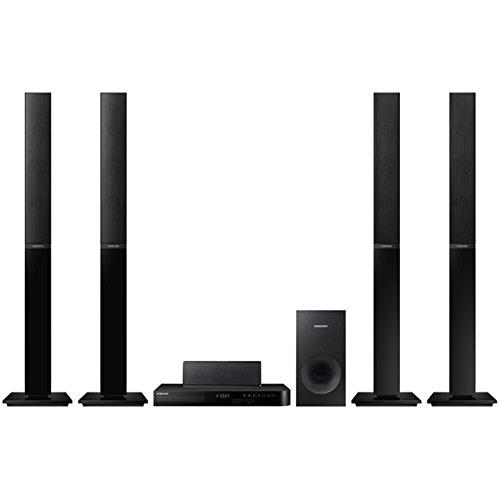 Samsung Ht-j4550K Smart Bluetooth Multi Region Free Home Cinéma 5.1Système de Haut-parleurs W/Gratuit câble HDMI, 110–240V