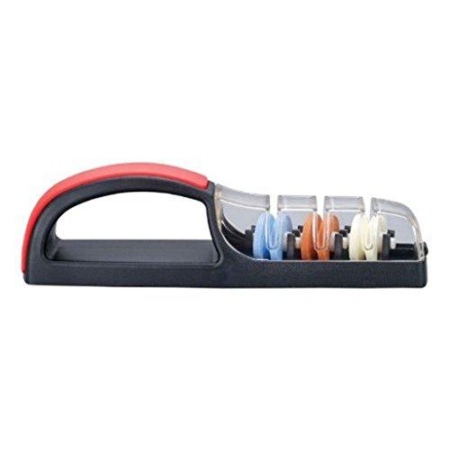 MinoSharp 550-BR Plus 3 Universalschleifer (schwarz/rot)