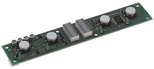 Hobart Tastaturplatine für Spülmaschine ECOMAX-612S-10, ECOMAX-602S-11, AM-11 4 Tasten mit Display Breite 35mm Länge 185mm