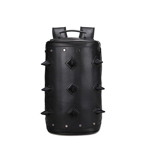 Sac à dos en cuir léger de conception unique de loisirs de voyage de sac de randonnée plein air de travail d'étudiant | Sac bandoulière | Sac