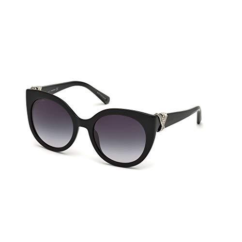 Swarovski - Gafas de sol - para mujer Negro negro brillante 56