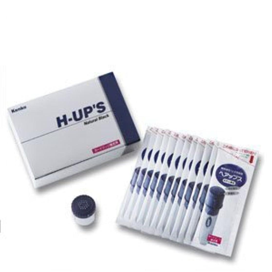 チャールズキージング有名個性H-UP S ヘアップス 補充用カートリッジ 頭皮薄毛カバー粉末 ブラウン