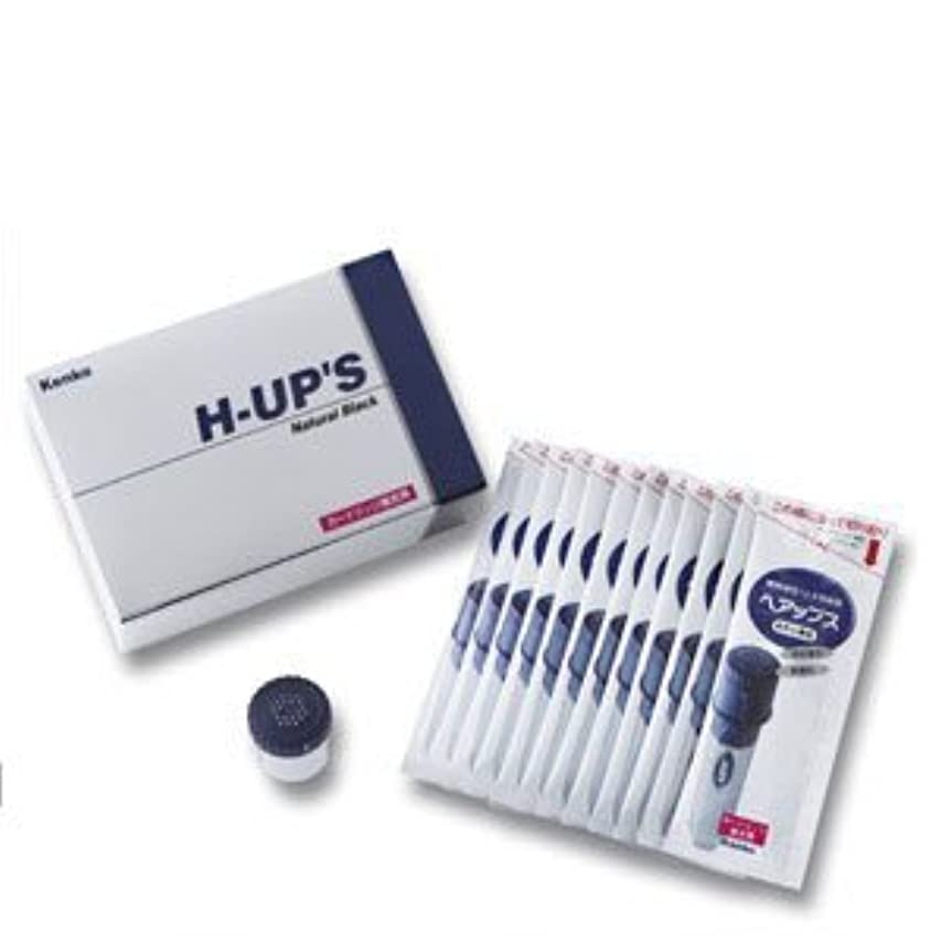 安全でない断線くH-UP S ヘアップス 補充用カートリッジ 頭皮薄毛カバー粉末 ブラウン