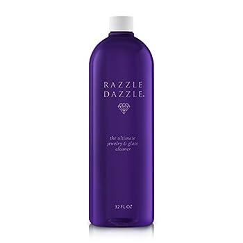 Razzle Dazzle Jewelry Watch & Glass Cleaner Refill Bottle 32 oz.