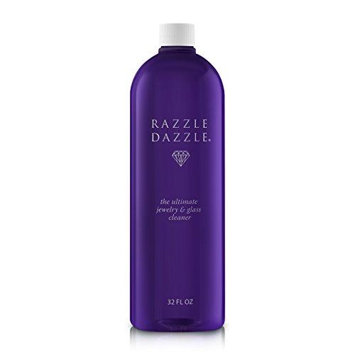 Razzle Dazzle Jewelry, Watch & Glass Cleaner Refill Bottle, 32 oz.