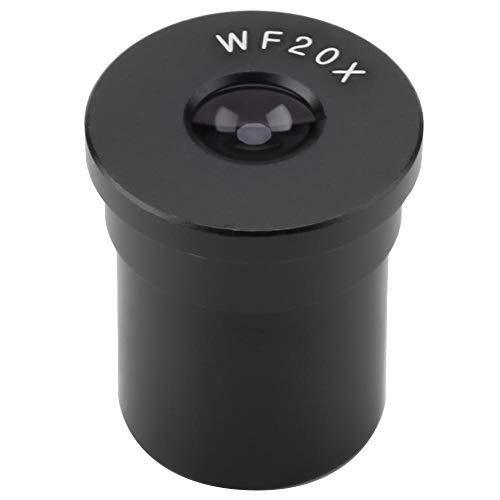 Oumefar WF20X Okularmikroskop Okularteleskope Standard-Okular Weit verbreitete Linse für den Innen- und Außenbereich mit einem Schnittstellendurchmesser von 23,2 mm für das Büro