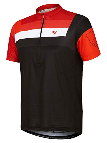 Ziener NEPUMUK Camiseta Maillot de Ciclismo-Mountain Bike/Bicicleta de Carreras-Transpirable, de Secado rápido,...