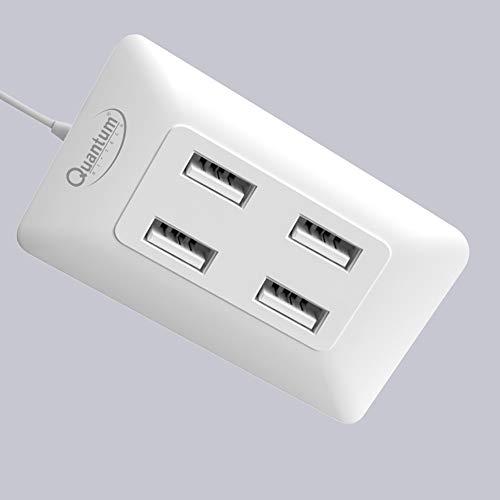 Quantum QHM6633 4-Port Hi-Speed USB Hub (Multicolor)