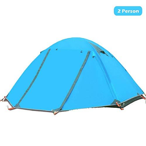 Azarxis 1-3 personen ultralichte tent, 4 seizoenen, waterdicht, dubbellaags, voor outdoor, camping, wandelen
