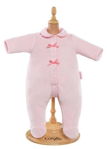 Corolle - Y5465 - Vêtement Poupon 36cm - Mon Classique Corolle - Pyjama Rose
