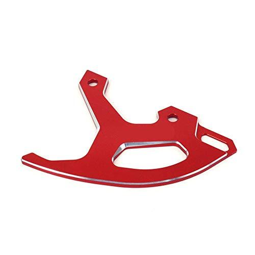 LYYAN Bueno Protector de Disco de Freno Trasero de Motocicleta Aleación de Aluminio CNC Firma Adecuado para Honda CR125R / 250R CRF250R / 450R CRF250X / 450X Los 21x11x2cm 1 Articulo Calidad