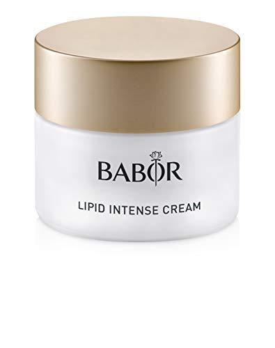 BABOR Lipid Intense Cream, Moisturizing Hyaluronic Acid Face Treatment, Evens Skin Tone and Restores Protective Skin Barri...