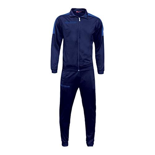 Givova TR033, Unisex Adulto, Blu/Azzurro, M