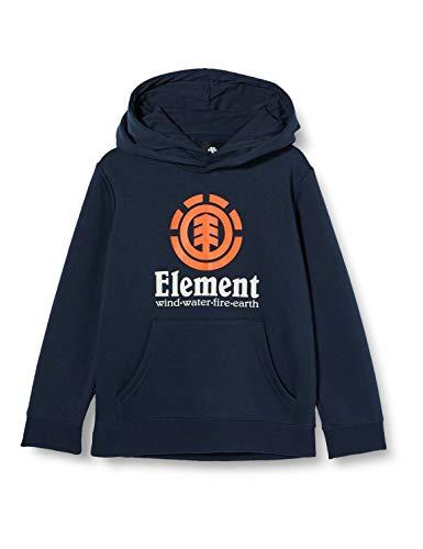 Element Vertical - Felpa con Cappuccio da Ragazzo Felpa con Cappuccio, Bambino, Eclipse Navy, 12