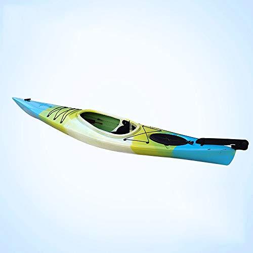 JNWEIYU Kayak, 3,5 Metri Sola Persona A Breve Distanza Ocean Boat, Viaggi Canoa, Sport Nomade 1 Person Kayak Gonfiabile