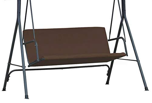 Ferocity Universal Covers for seats for Swing Chair Patio Hammock Cover Top Garden Outdoor size 93 x 120 Brown [101]