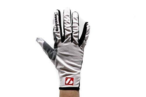 Barnett NBG-18 RollerSki Weisse Handschuhe - Skilanglauf - Rennrad - Laufen - Weiß (2XL