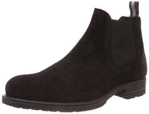 Marc O'Polo Herren Chelsea Desert Boots, Schwarz (Black 990), 42 EU