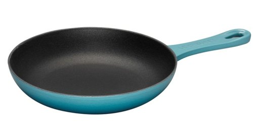 Le Creuset Cast Iron Omelette Pan Satin Black Interior Vandornwow