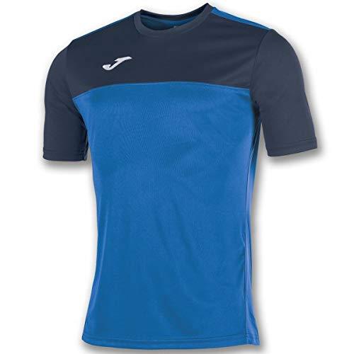 Joma Winner Camisetas Equip. M/c, Hombre, Royal-Marino