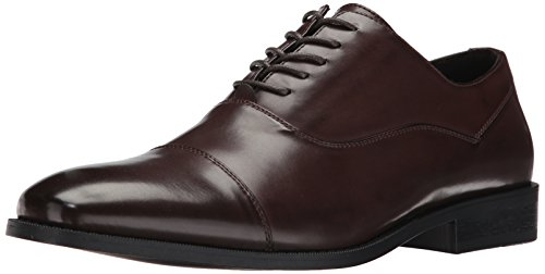 Unlisted by Kenneth Cole Men's Half Time Oxford, Brown, 8.5 M US