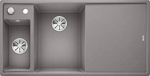 BLANCO 524655 AXIA III 6 S Küchenspüle, alumetallic, 60 cm Unterschrank