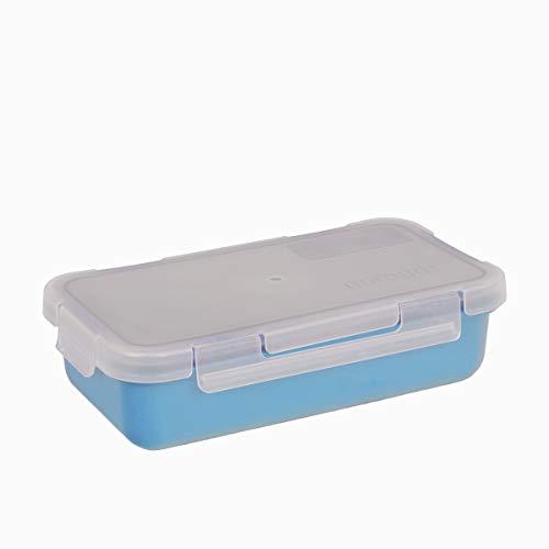 Valira Porta alimentos - Contenedor hermético de 0,5 L hecho en España, color azul