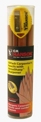 CH Hanson Company 00213 VersaSharp 10 Pencil Tube