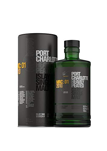 BRUICHLADDICH Port Charlotte MRC: 01 2010 - Islay Single Malt 1x0,7L 59,2% vol heavily peated