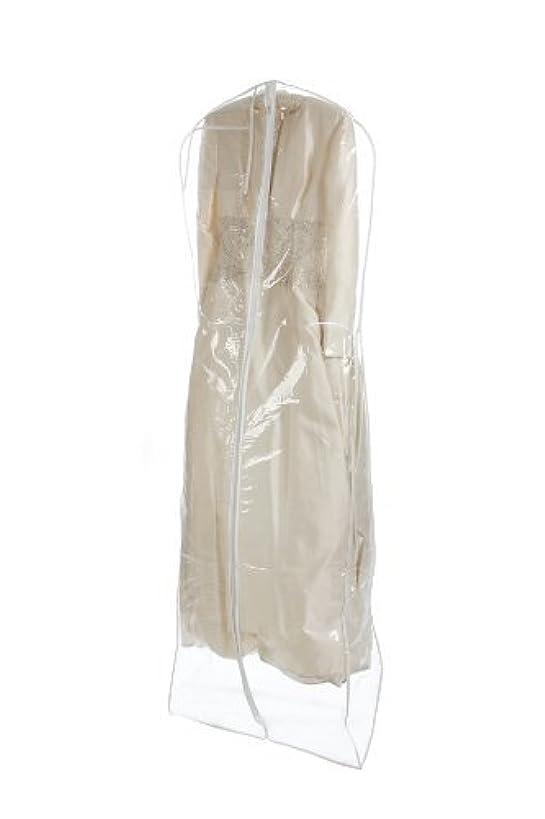 Bags for Less Clear Heavyduty 4.5 Mil Wedding Dress Garment Bag