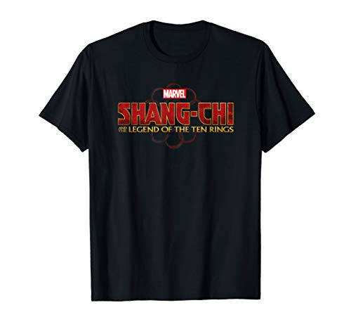 Marvel Shang Chi and the Legend of the Ten Rings Logo T-Shirt