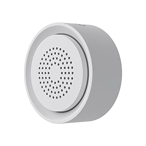 Tuya Smart Life Inalámbrico WiFi DIY Alarma de Sirena Sensor de Sonido Y Luz Sistema de Alerta de Seguridad para Casa Apartamento Oficina de Negocios Proteger La Propiedad