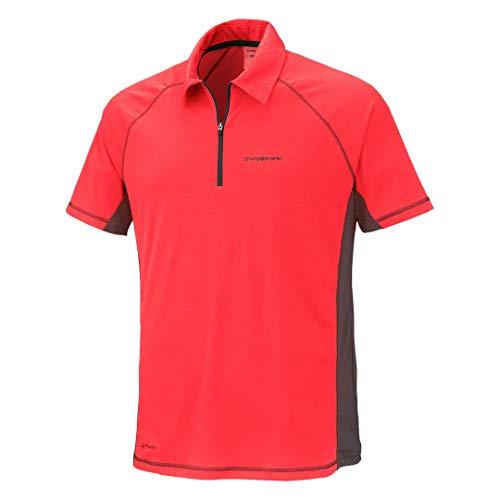 Trangoworld Ercol Polo Homme, Rouge (Rojo/Sombra oscura), XL