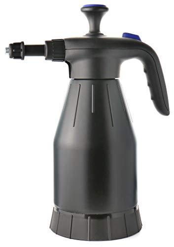 com-four Botella de pulverización con Bomba de presión - Pulverizador de presión como generador para automóvil o jardín - Botella para fumigar (01 Pieza - pulverizador de Espuma)