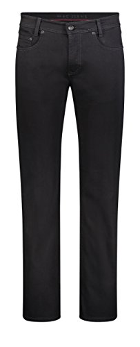 MAC Herren Straight Leg Jeanshose Arne, Schwarz (Black H900), 38W / 32L