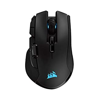 Corsair Ironclaw Wireless RGB - FPS and MOBA Gaming Mouse - 18,000 DPI Optical Sensor - Sub-1 ms SLIPSTREAM Wireless (B07Q424WFW) | Amazon price tracker / tracking, Amazon price history charts, Amazon price watches, Amazon price drop alerts